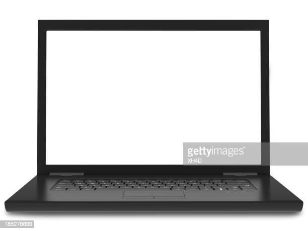 Schwarzes laptop