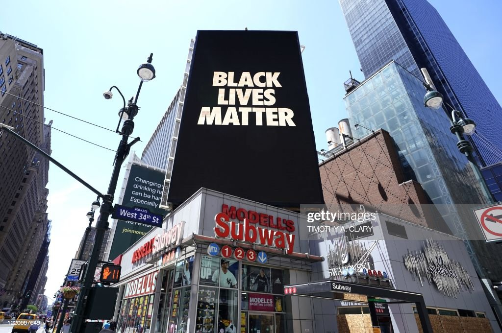 US-POLITICS-RACISM-POLICE : News Photo
