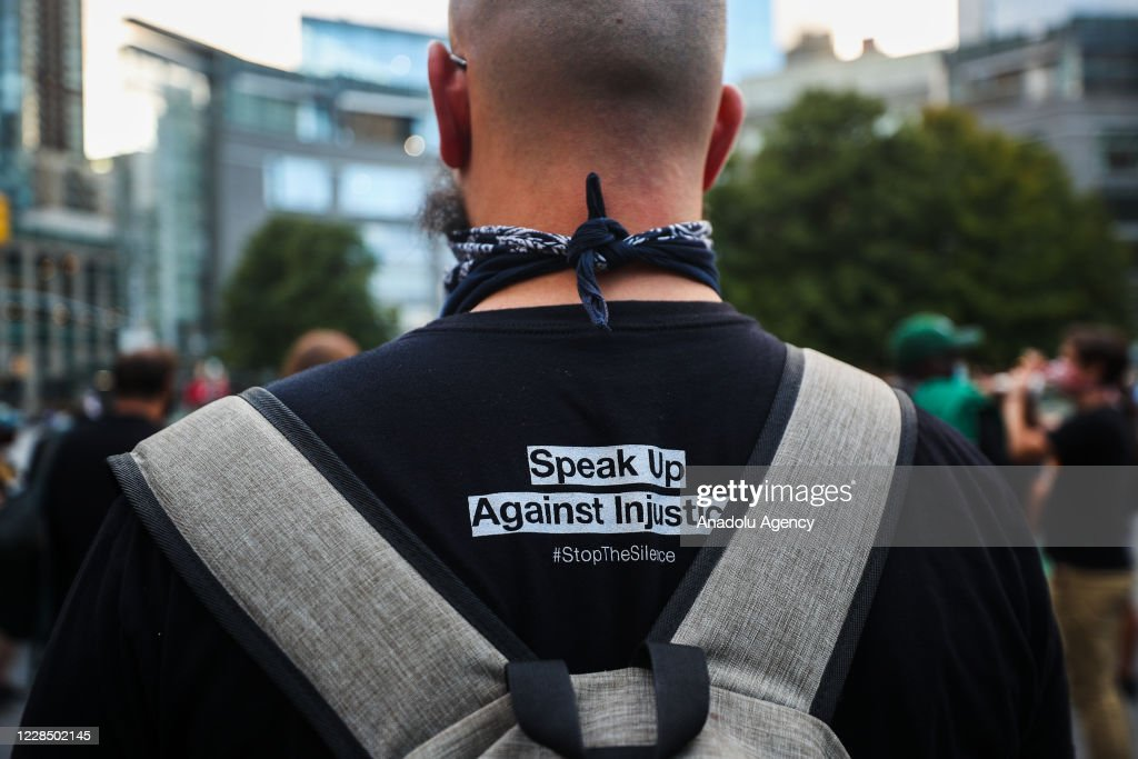 Anti-racism protest in NYC : News Photo
