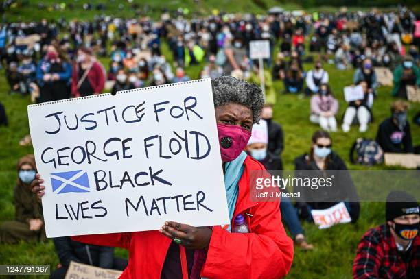 Black Lives Matter protest in Holyrood Park despite a call by First Minister Nicola Sturgeon and others to find other forms of protest because of...