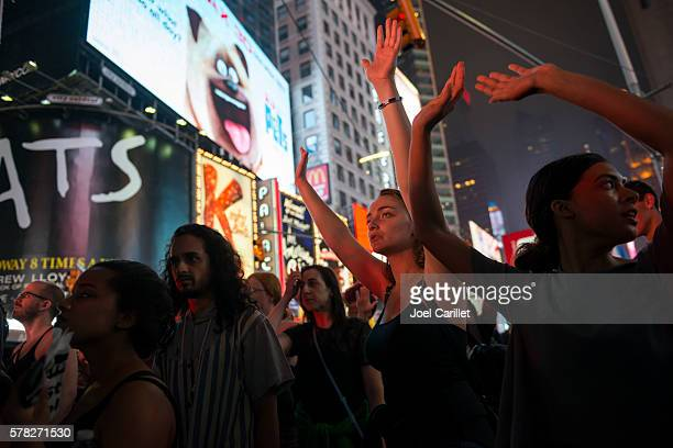 Black Lives Matter protest in New York City