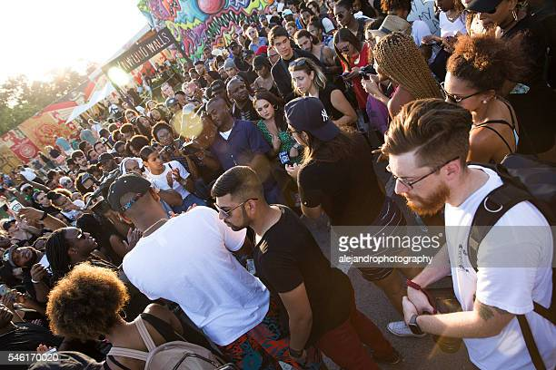 black lives matter protest miami - social movement stock pictures, royalty-free photos & images