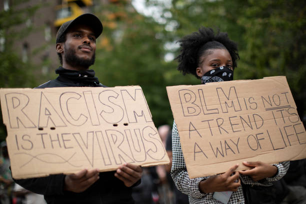 GBR: Black Lives Matter Protests Take Place Across The UK
