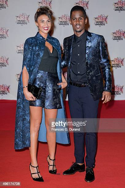 Black M attends the 17th NRJ Music Awards at Palais des Festivals on November 7, 2015 in Cannes, France.