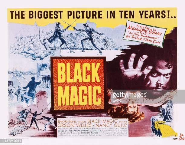 Black Magic poster US poster Orson Welles Nancy Guild 1949