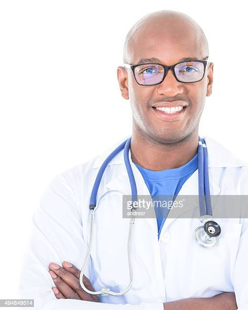 Black male doctor