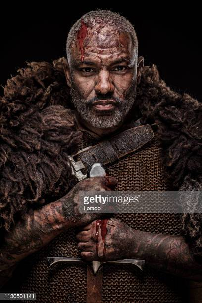 black male viking - black history month stock pictures, royalty-free photos & images