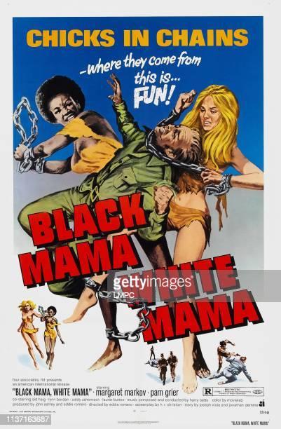 Black Mama poster WHITE MAMA US poster Pam Grier Margaret Markov 1972