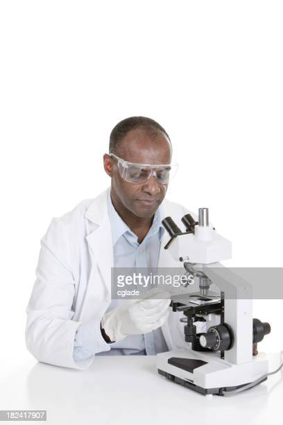 Black Man Researcher or Scientist