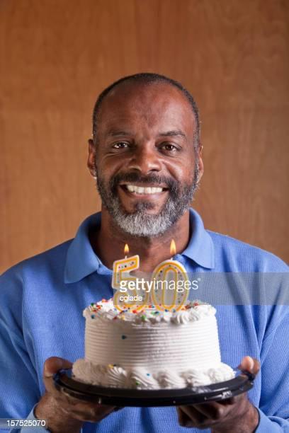 Black Man Turning Fifty