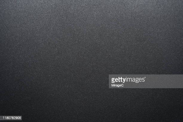 black matte coated metallic texture - textured effect stock pictures, royalty-free photos & images