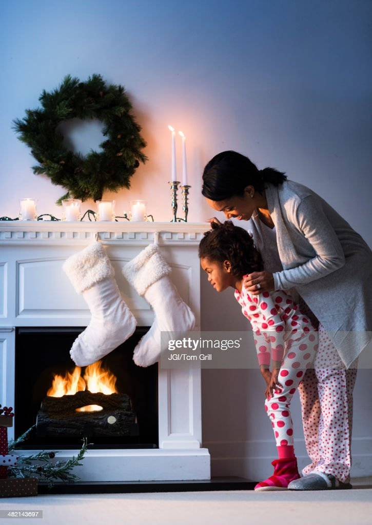 Mother And Daughter In Stockings