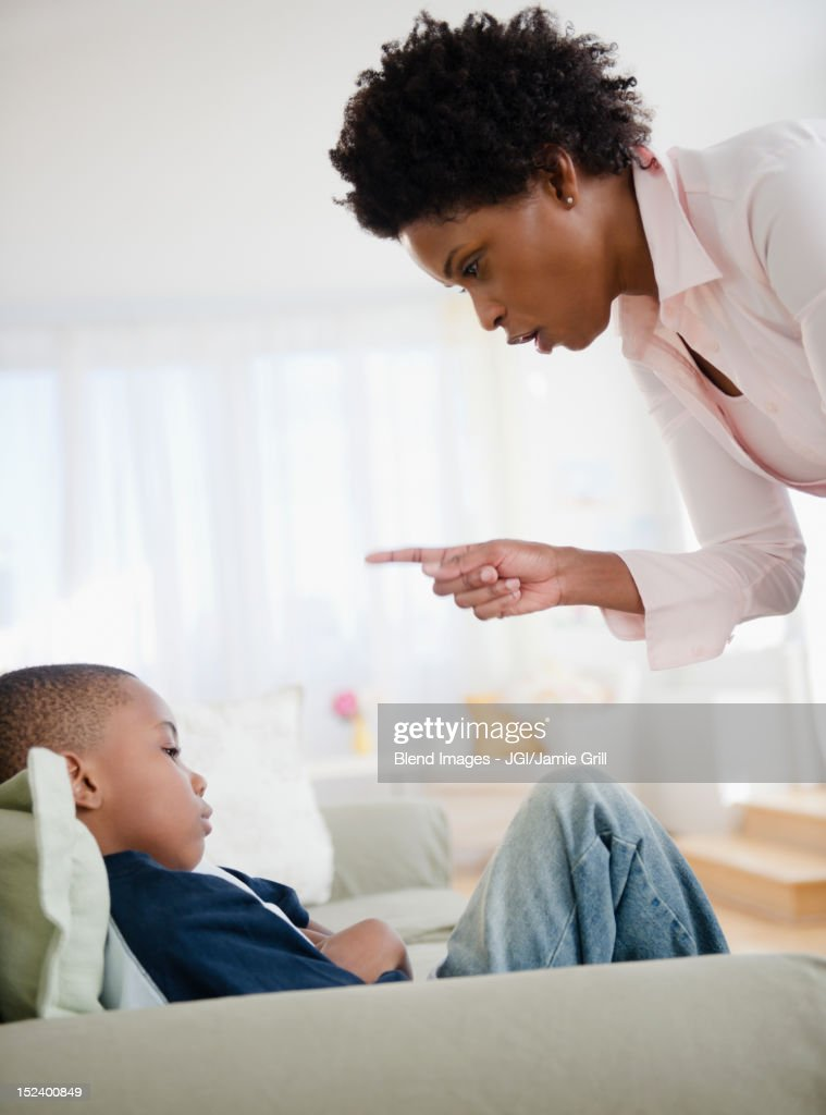 Image result for black mom yelling at son
