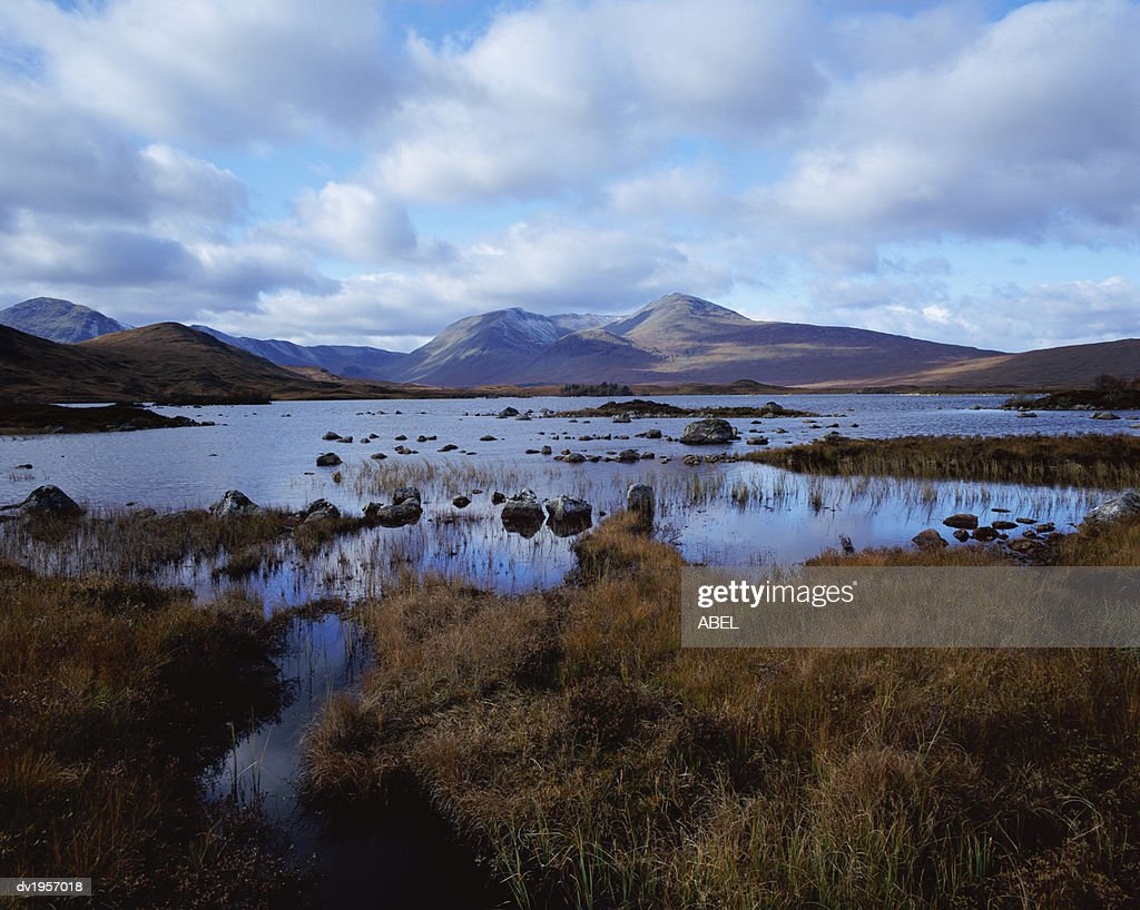 Black Mount, Rannoch Moor, Strathclyde, Scotland, UK : Stock Photo