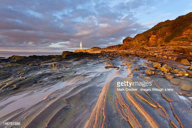 black nore lighthouse - portishead stock pictures, royalty-free photos & images