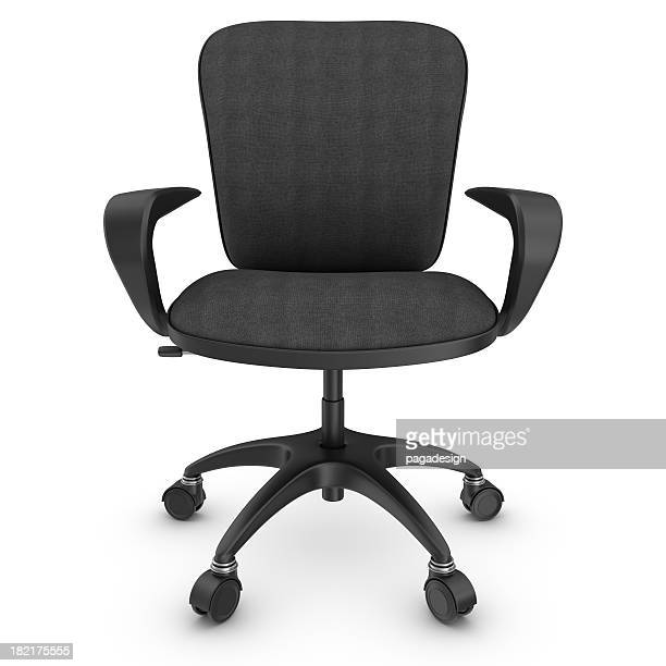 black office chair - office chair stock pictures, royalty-free photos & images