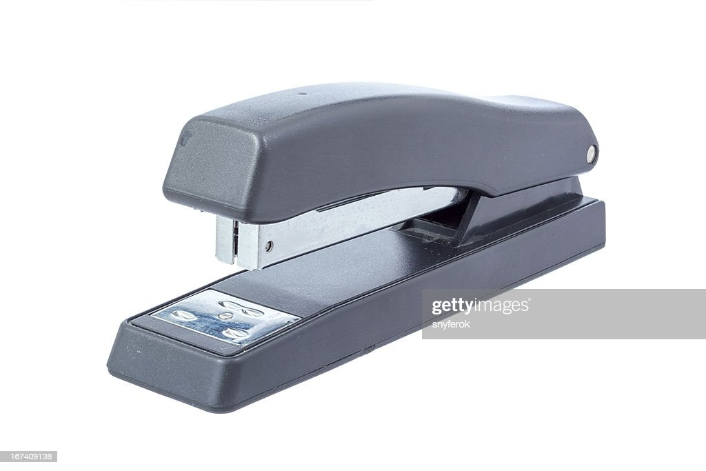 Black office stapler : Stockfoto