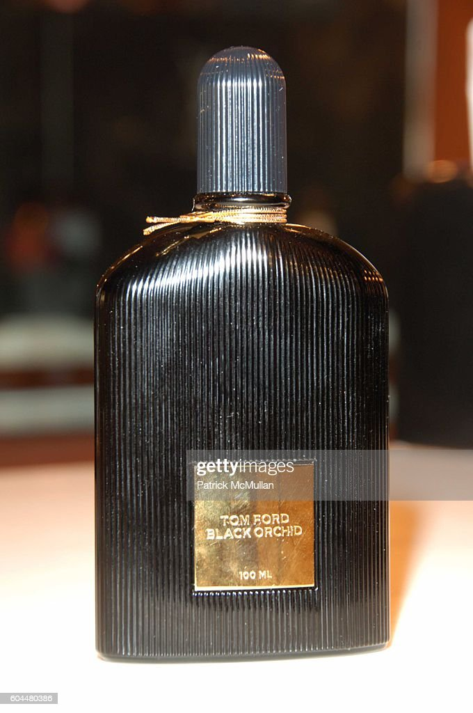 Black Orchid Attends Tom Ford Unveils His Signature Fragrance