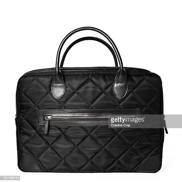 Black padded handbag