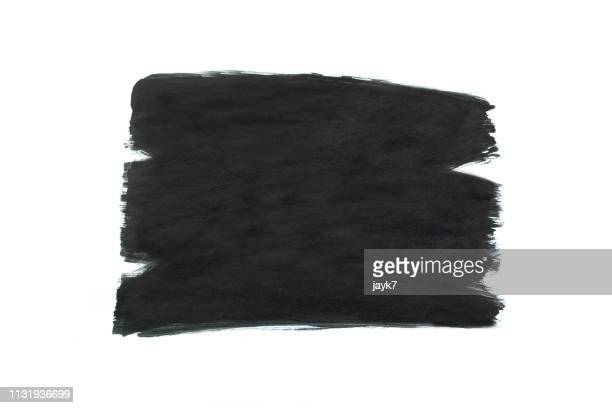 black paint - paint textures stock pictures, royalty-free photos & images