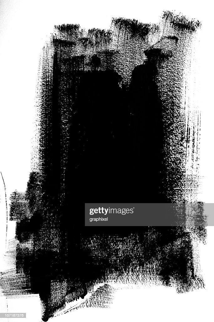 Black Paint : Stock Photo