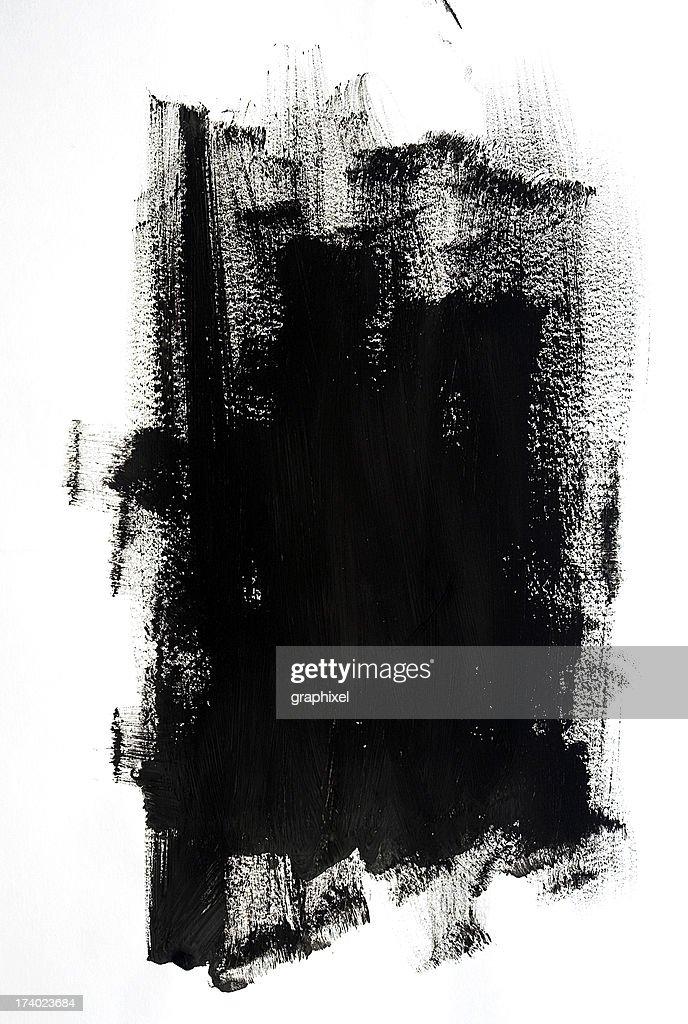 Schwarzer Farbe : Stock-Foto