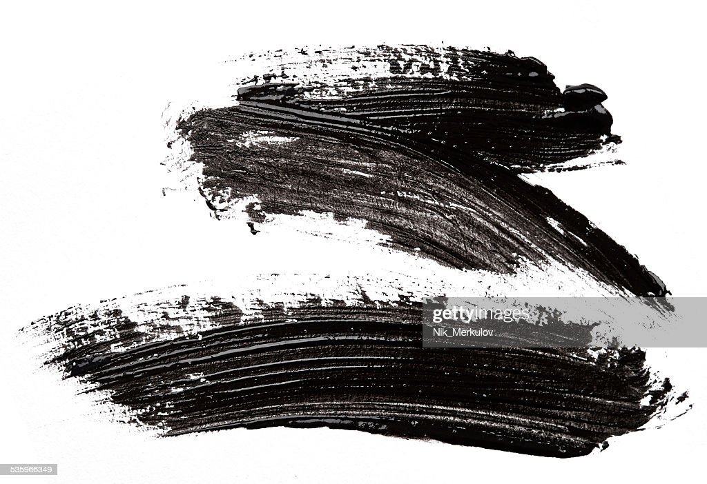 Black paint : Stock Photo