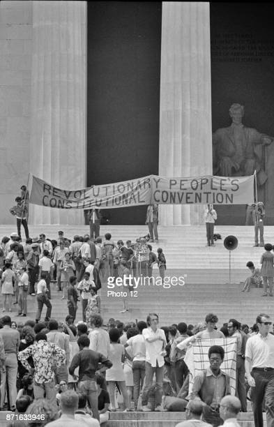 Black Panther Convention Lincoln Memorial 1970