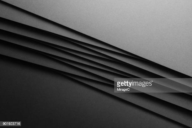 Black Paper Crossing and Stacking