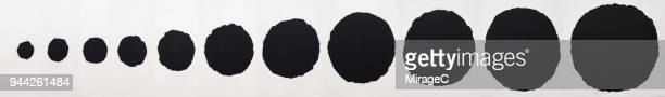Black Paper Torn Holes(Merged Large Size Image)
