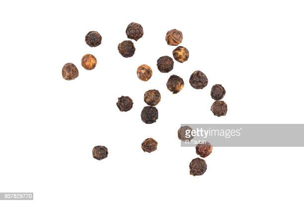 black pepper seeds - pepper stock pictures, royalty-free photos & images