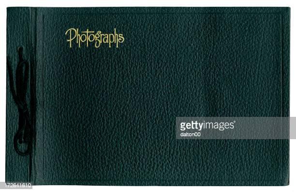 Black Photo Album Cover