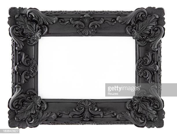 Black Picture Frame Isolated
