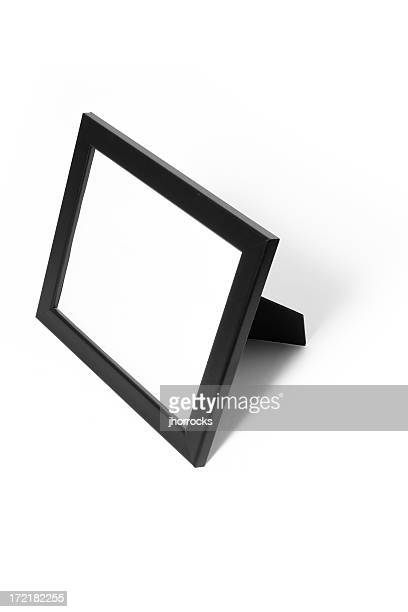 black picutre frame - tilt stock pictures, royalty-free photos & images