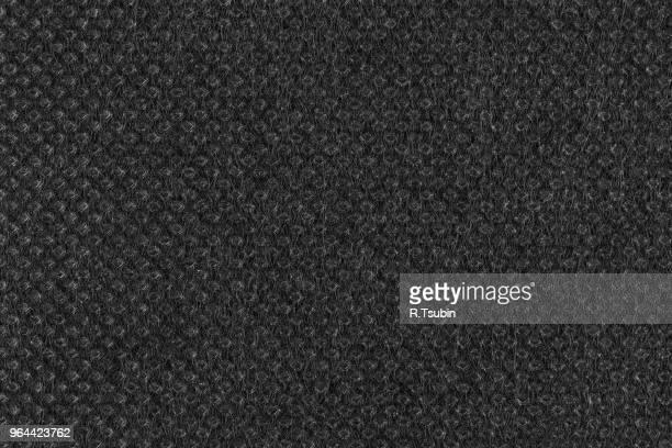 black plain fabric, textile. close up shot - pele de animal material têxtil - fotografias e filmes do acervo