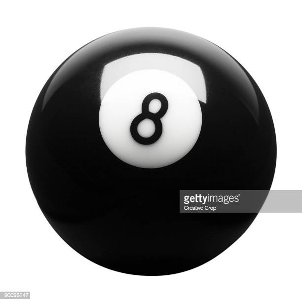 Black pool eight ball