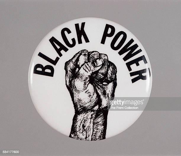 """Black Power"" Button"