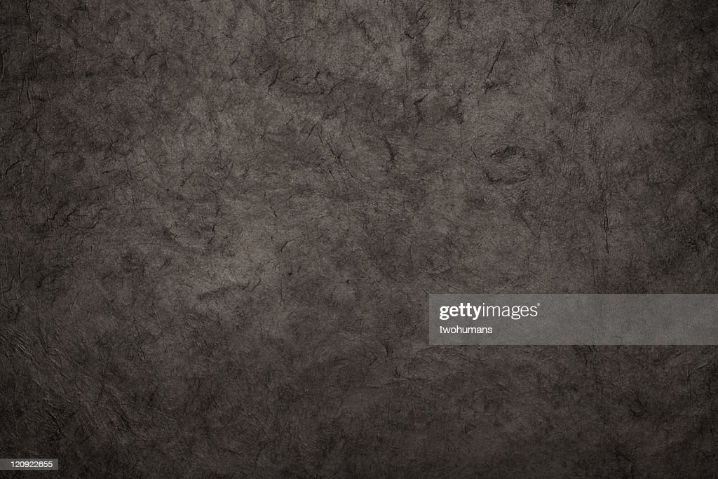 Black rice paper texture background : Stock Photo
