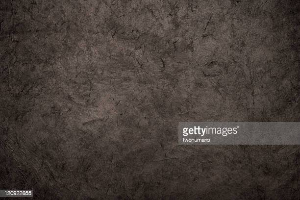Black rice paper texture background