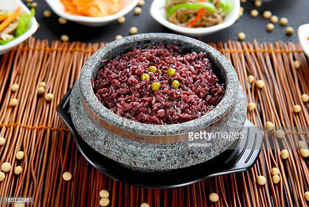 black rice - black rice stock pictures, royalty-free photos & images