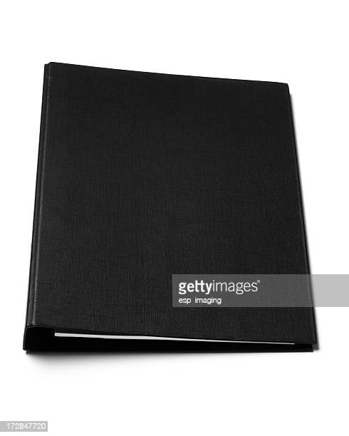 Black ring binder
