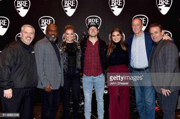 Black River Entertainment CEO Gordon Kerr former NFL player Thurman Thomas Kelsea Ballerini Jacob Davis Abby Anderson former NFL player Jim Kelly and...