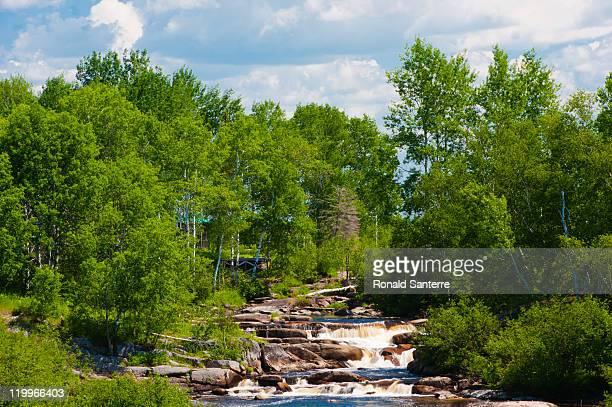 black river - black river falls wisconsin stock-fotos und bilder