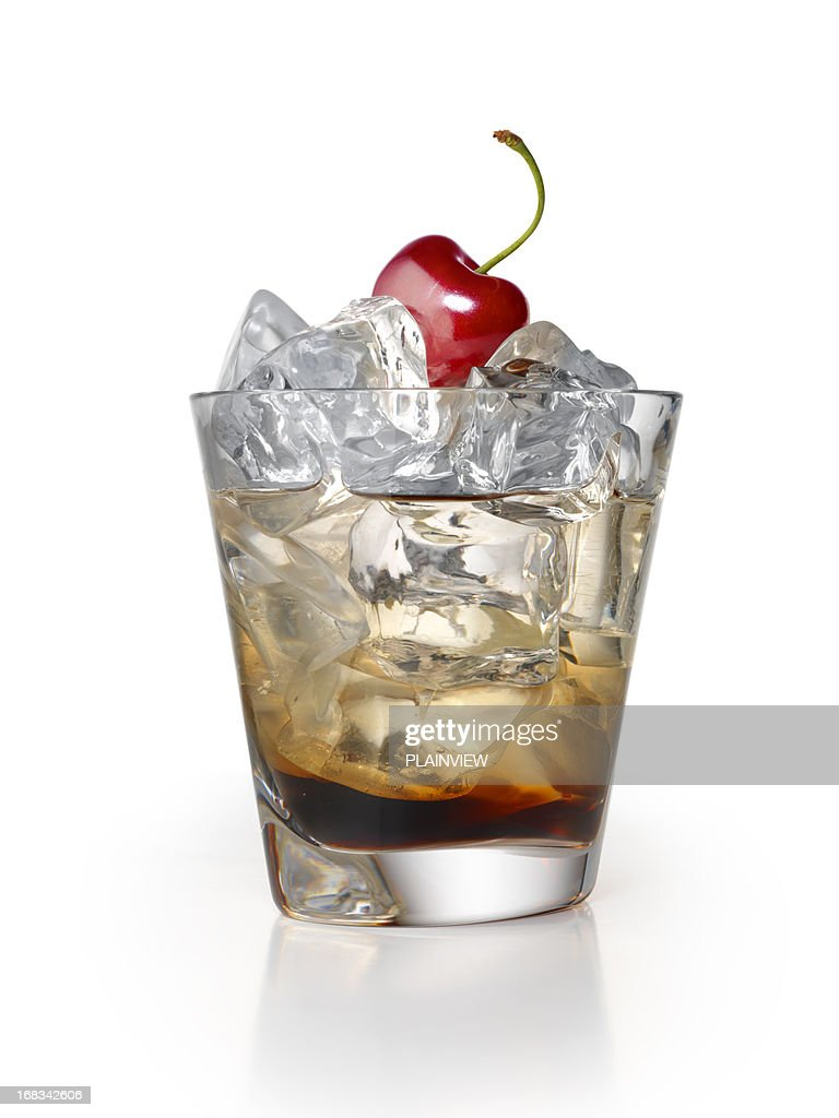 Black Russian Cocktail : Stock Photo