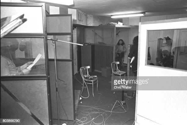 Black Sabbath 1970 at Regents Sounds during Paranoid sessions