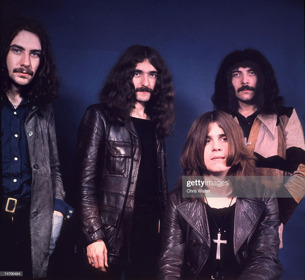 Bill Ward, Geezer Butler, Ozzy Osbourne, Tony Iommi during Black Sabbath File Photos in , United Kingdom.