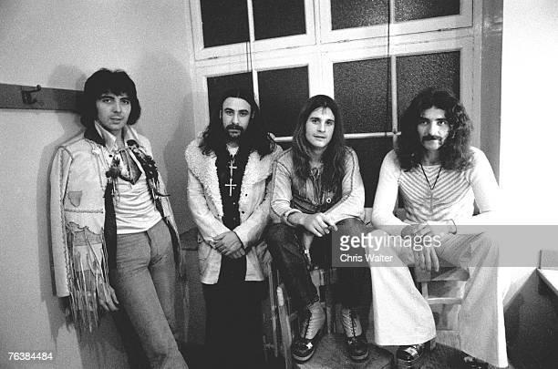 Tony Iommi Bill Ward Ozzy Osbourne Geezer Butler