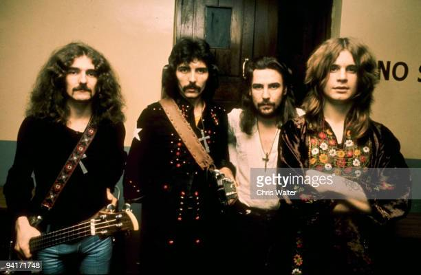 Geezer Butler Tony Iommi Bill Ward and Ozzy Osbourne