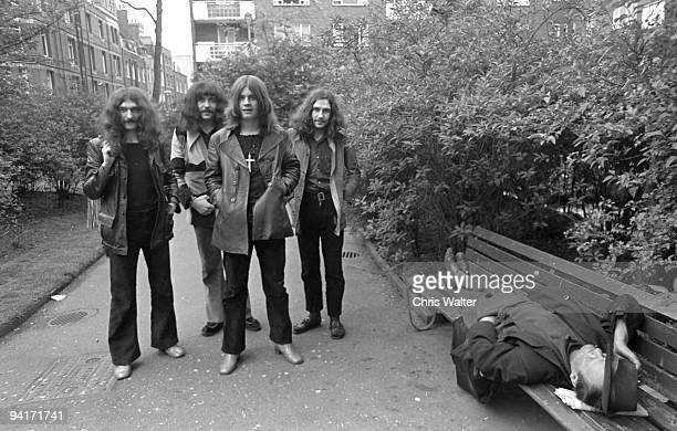 Geezer Butler Tony Iommi Ozzy Osbourne and Bill Ward
