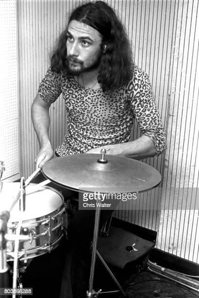 Black Sabbath June 17 1970 Bill Ward at Regents Sounds during Paranoid sessions 'n